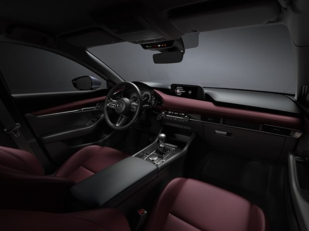 Mazda3 Skyactiv-X Interieur Rot