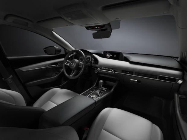 2019 Mazda3 Interieur beige