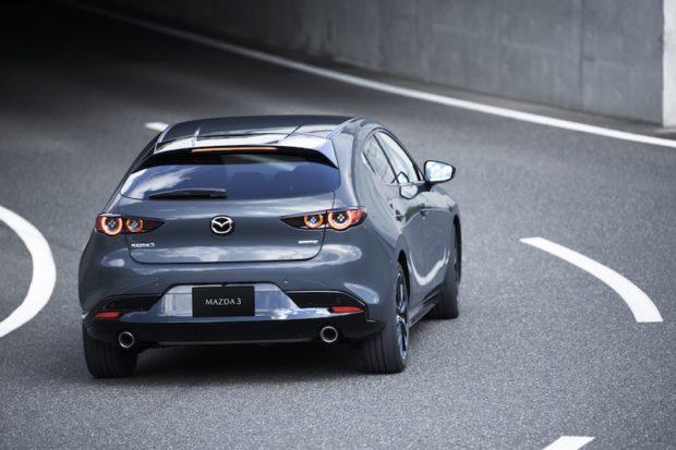 2019 Mazda3 5-Türer Grau