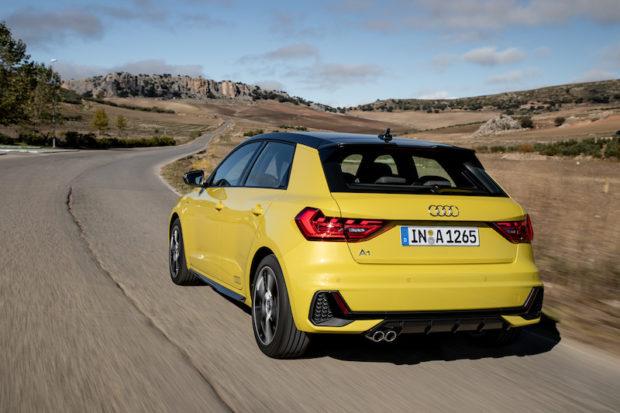 Audi A1 Sportback 40 TFSI S line Heck