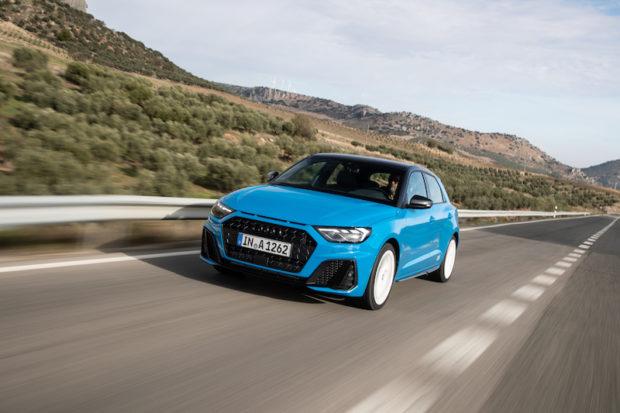 Audi A1 Sportback Turbo Blau