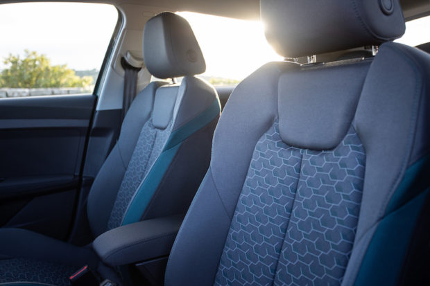 Audi A1 Sportback Sitze grau