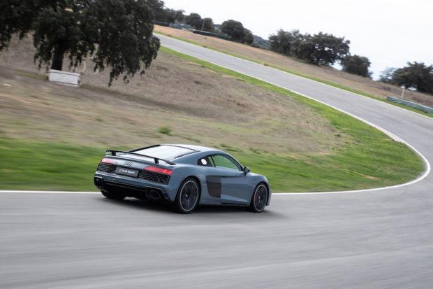 Audi R8 Kemora Grau Heck