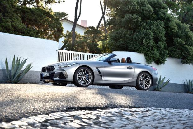 BMW Z4 M40i G29 Grau Seitenansicht