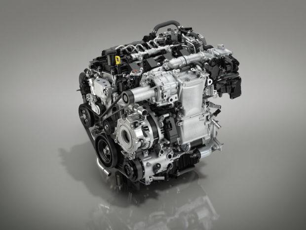 2019 Mazda3 Skyactiv-X Motor
