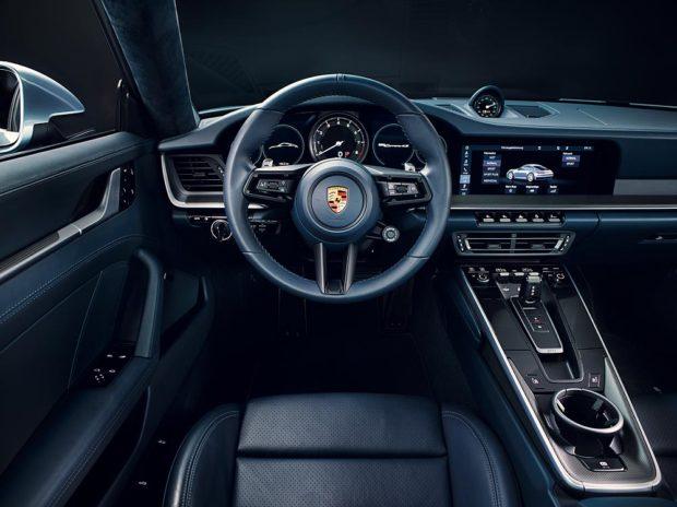 Porsche 911 Typ 992 Cockpit