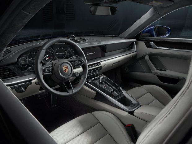 Porsche 911 Typ 992 Interieur