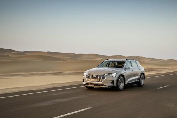 Audi e-tron 55 quattro Siambeige