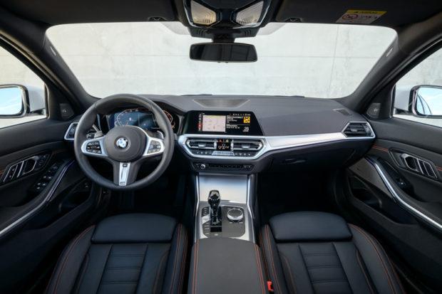 BMW 320d Sport Line G20 Limousine innenraum
