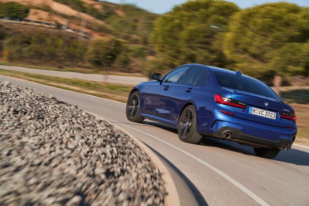 BMW 330i M Sport G20 Limousine dynamisch