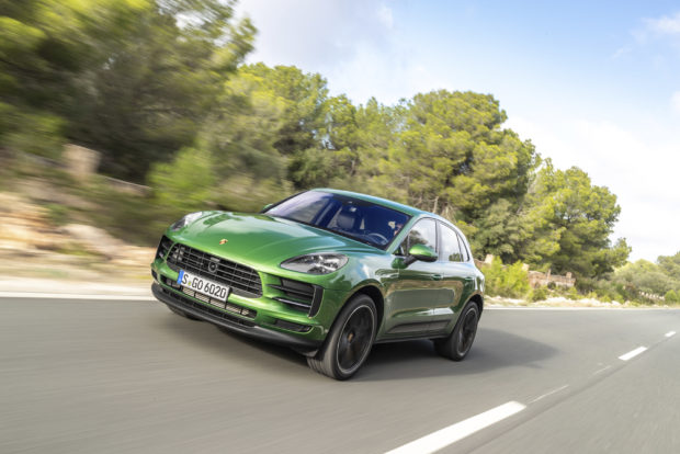 Porsche Macan Facelift Mamba Green Metallic