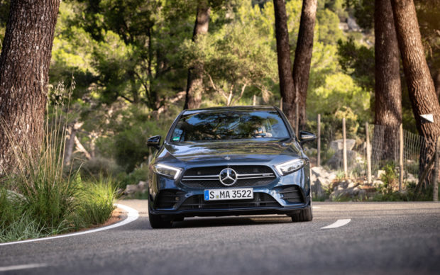 Mercedes-AMG A35 4MATIC Edition 1 Frontsplitter