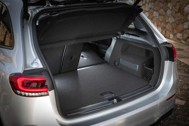 Mercedes-Benz B 200d Kofferraum