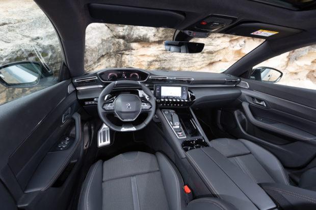 Peugeot 508 SW BlueHDI 160 Cockpit