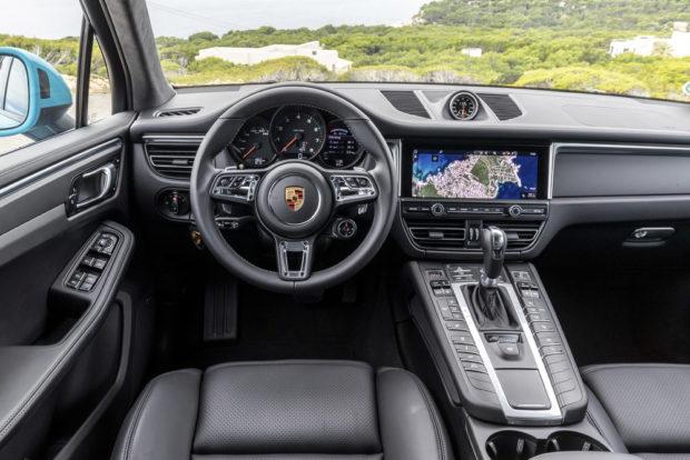 Porsche Macan Facelift Innenraum