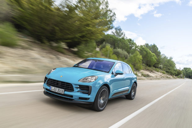 Porsche Macan Facelift Miami Blue