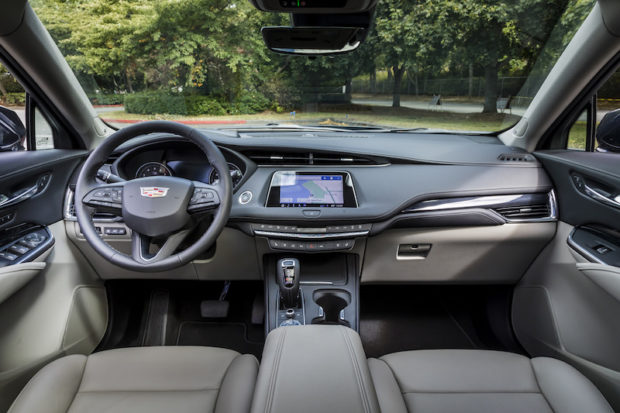 Cadillac XT4 Cockpit