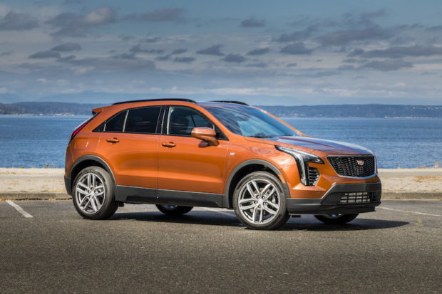 Cadillac XT4 US-Version Orange