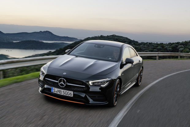 Mercedes-Benz CLA, C 118 Front AMG Line