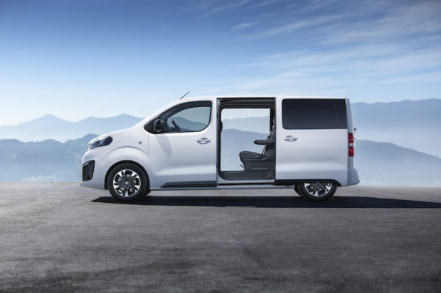 2019 Opel Zafira Life elektrische Schiebetüren