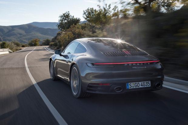 2019 Porsche 911 Carrera S Agate Grau