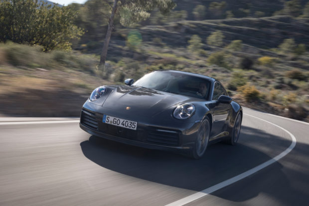 2019 Porsche 911 Carrera S Agate Grey