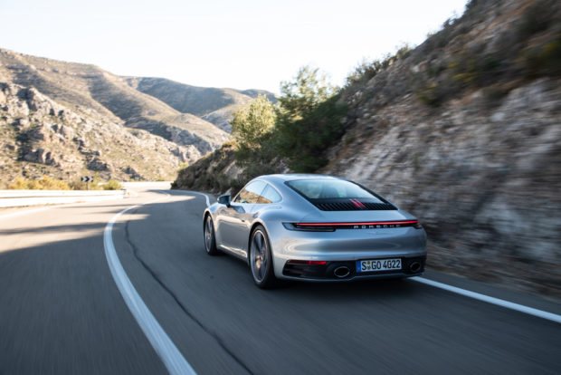 2019 Porsche 911 Carrera S Dolomit Silber