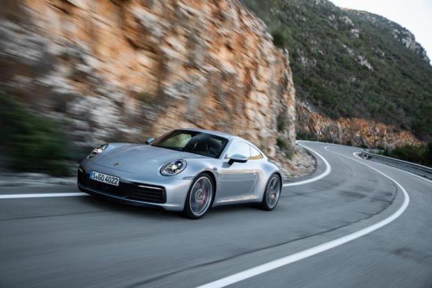 2019 Porsche 911 Carrera S Dolomit Silber Front