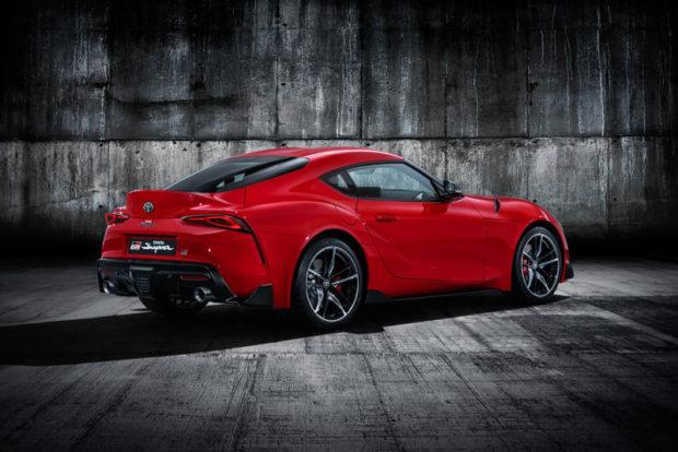 Toyota GR Supra 2019 Heck