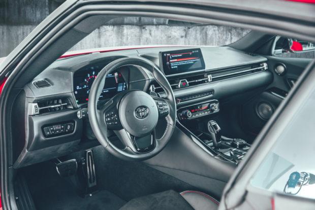 Toyota GR Supra 2019 Cockpit