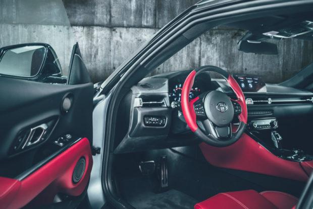 Toyota GR Supra A90 Edition Cockpit