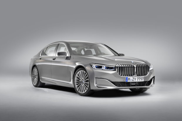 BMW 7er G12 LCI 3/4 Ansicht
