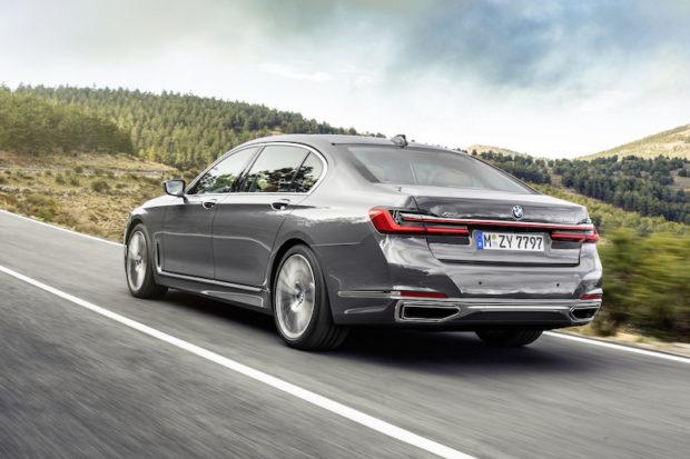 BMW 7er G12 LCI Heckansicht