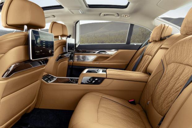 BMW 7er G12 LCI Fond
