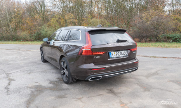 Volvo V60 D3 Inscription Heckansicht