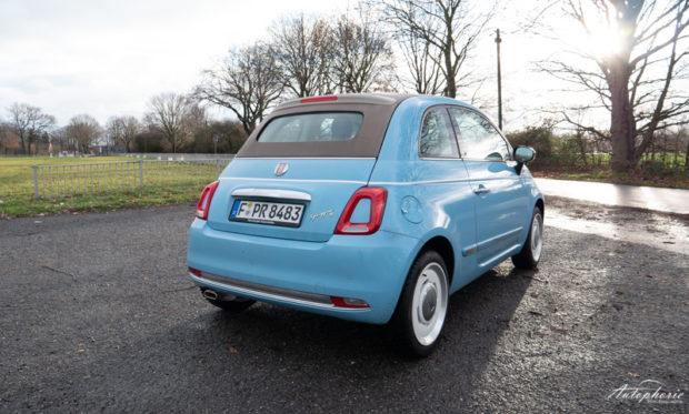 Fiat 500 Spiaggina `58 Heck