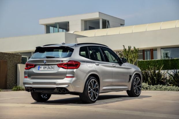 BMW X3 M Competition Heck