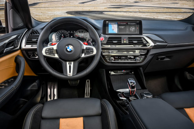 BMW X3 M Competition Cockpit