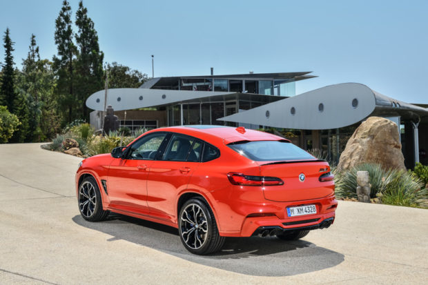 BMW X4 M Competition Heck