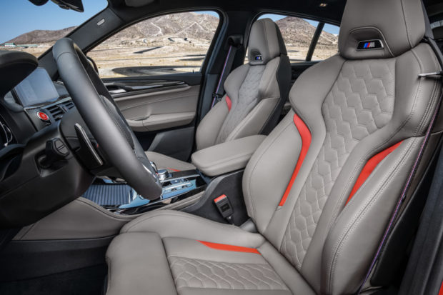 BMW X4 M Competition Sitze