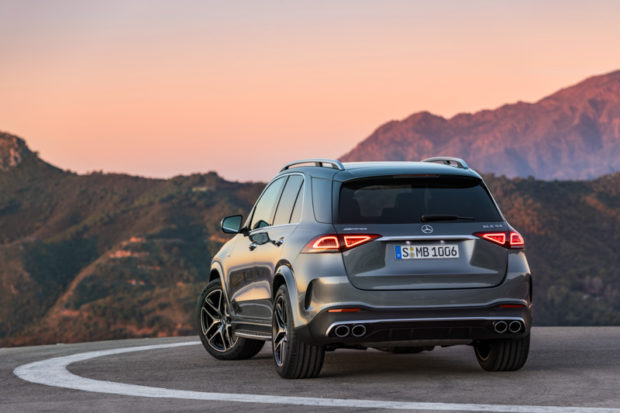 Mercedes-Benz GLE 53 4MATIC+ Heck