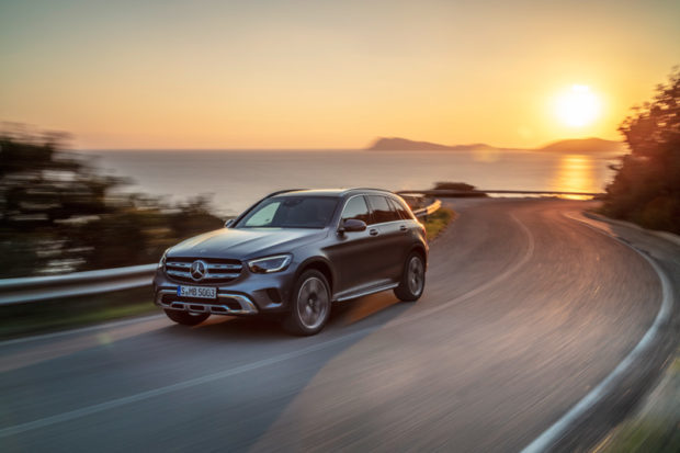 Mercedes-Benz GLC X 253 2019 Modellpflege Lichtsignatur