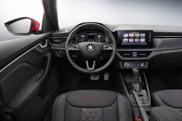 Skoda Kamiq Cockpit