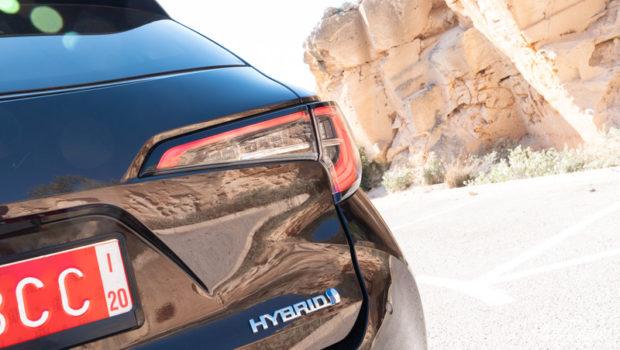 2019 Toyota Corolla Touring Sports 2.0 Hybrid Heckleuchte