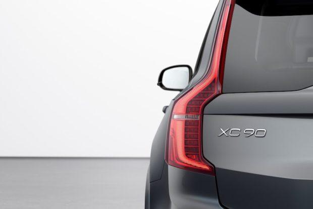 2020 Volvo XC90 Thunder Grey Heck