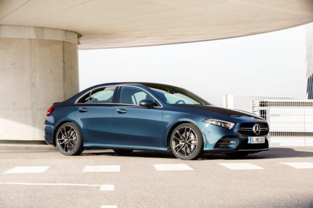 2019 Mercedes-AMG A35 Limousine Front