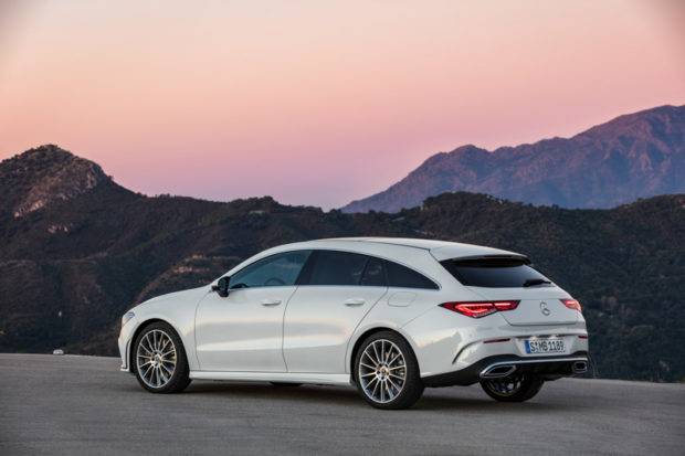 2019 Mercedes-Benz CLA Shooting Brake X118 Digitalweiß Heck
