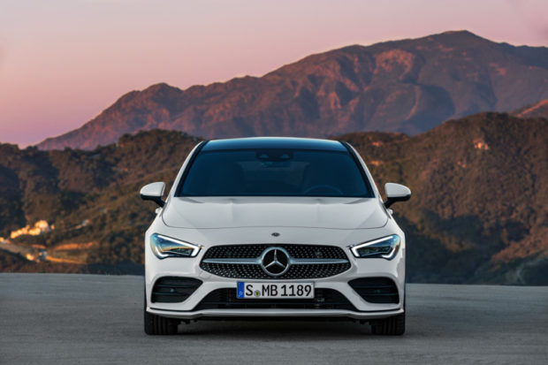 2019 Mercedes-Benz CLA Shooting Brake X118 Digitalweiß Front