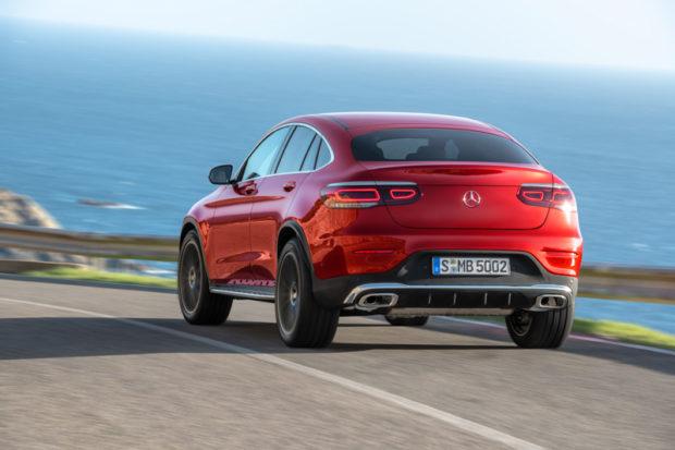 Mercedes-Benz GLC Coupé 2019 Modellpflege Heck