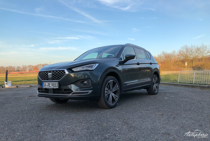 Seat Tarraco Xcellence Dark Camouflage Front